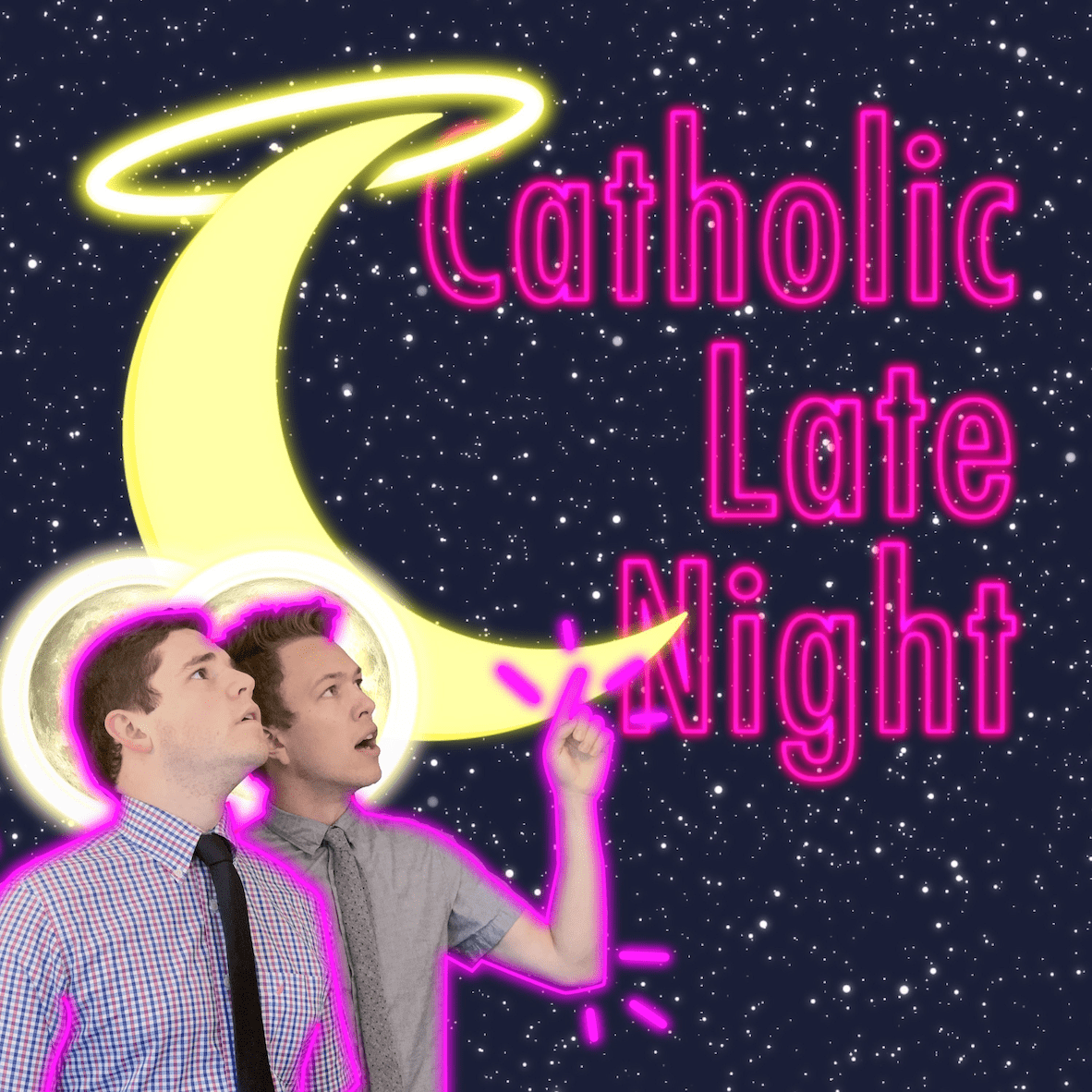 Catholic Late Night - Entertainment for Teens and Young Adults logo